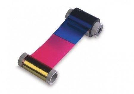 Fargo 84051 YMCK Full Colour Ribbon with Black Panel - 500 Prints