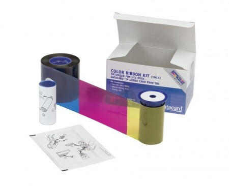 Datacard 534000-003 YMCKT Colour Ribbon - 500 Prints