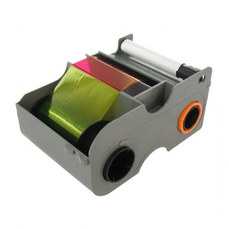 Fargo 45100 YMCKO Full Colour Ribbon - 250 Prints