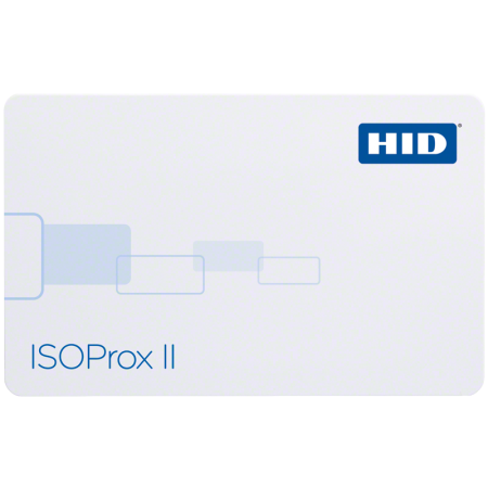 HID 1386NGGNN ISOProx II PVC Unprogrammed Cards - Pack of 100