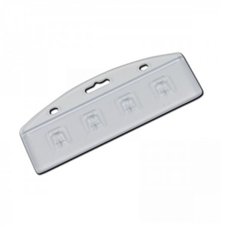 IDM Half-Badge Card Holder - Pack of 100
