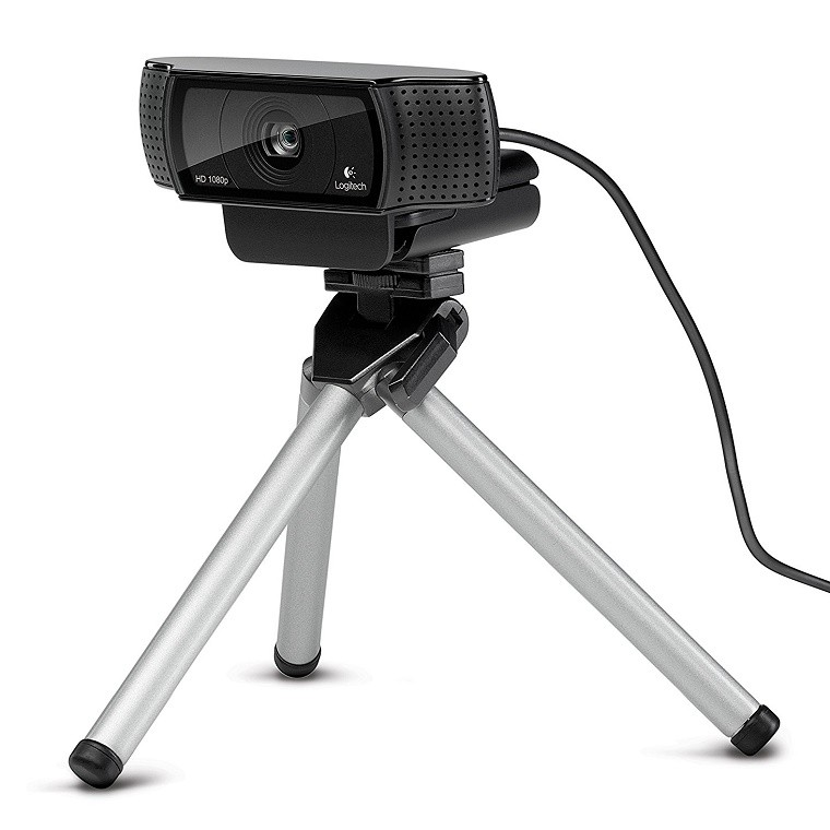 224829fc365 Logitech HD Pro C920 Webcam and Tripod. Tap to expand