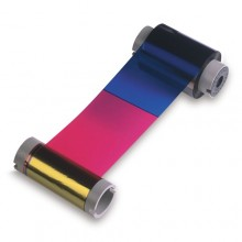 Fargo 84061 YMCFK Colour Ribbon with Fluorescent Panel - 500 Prints