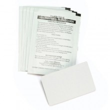 Zebra 104531-001 Short General Cleaning Card Kit - Pack of 100