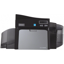 Fargo DTC4000 Dual sided Card Printer - Same side Input/Output Hopper with Magstripe Encoding