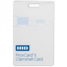 HID 1326NMSSV ProxCard® II Non-Programmed Access Clamshell Cards - Pack of 100, Matte Finish