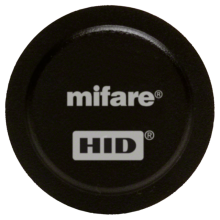 HID 1435NSSNN FlexSmart® MIFARE 1K Non-Programmed Adhesive Tags - Pack of 100