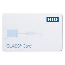 HID 2002PG1MN iCLASS 16K Proximity Access Card with Magstripe - Pack of 100, Gloss Finish