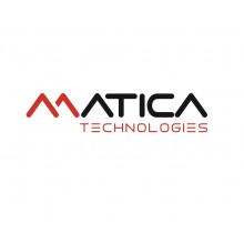 Matica PR000101 White Monochrome Ribbon - 1000 Images