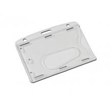 Premium Enclosed Clear Badge Holders - 86mm x 54mm, Pack of 100