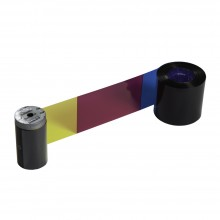 Datacard 534000-113 YMCKT Short Panel Colour Ribbon - 125 Images for SP25 (includes cleaning supply)