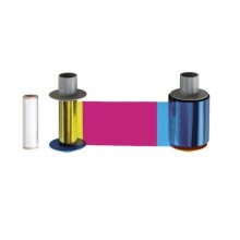 Fargo 84056 YMCKH Full Colour Ribbon with Heat Seal Panel - 500 Prints