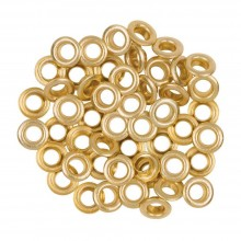 Gold Eyelets - Pack of 100