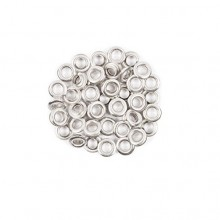Silver Eyelets - Pack of 100