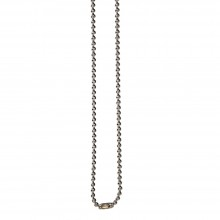 75cm Nickel Free Bead Chain Necklace - Pack of 100