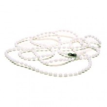 Plastic 2.4mm Bead Chain Necklace - Pack of 100