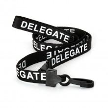 90cm Delegate Breakaway Lanyards with Plastic Clip - Pack of 100