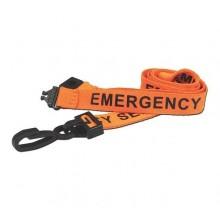 90cm Emergency Breakaway Lanyards with Plastic Clip - Pack of 100