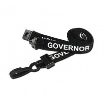 90cm Governor Breakaway Lanyards with Plastic Clip - Pack of 100