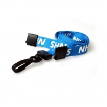 90cm NHS Breakaway Lanyards with Plastic Clip - Pack of 100