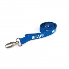 90cm Staff Breakaway Lanyards with Metal Clip - Pack of 100