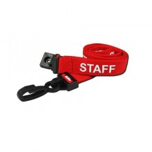 90cm Staff Breakaway Lanyards with Plastic Clip - Pack of 100