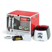 Evolis Badgy 200 ID Card Bundle Solution