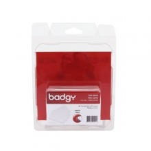 Evolis Badgy 500 Micron PVC Cards - Pack of 100