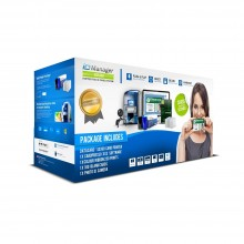 ID Manager Datacard SD360 Hopper Fed ID Card System
