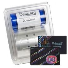 Datacard DuraGard 0.6mil 'Secure Globe' Holographic Laminate - 350 Prints