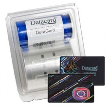 Datacard Secure Globe Topcoat. High Resolution Image with Enhanced Security Features (600 Images) SP75