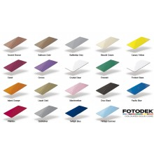 Fotodek Blank PVC Gloss Coloured Solid Core Cards (HiCo Magnetic Stripe Optional) - Pack of 100