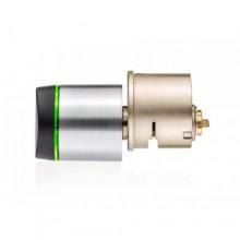 Clay G9K1100N00PPBNY by Salto GEO Mifare UK Cylinder RIM - Brass Finish