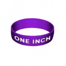 "Custom 1"" Silicone Wristbands"