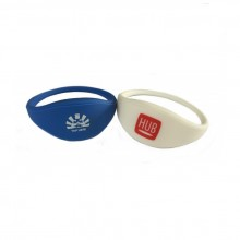 Fully Customisable RFID NTAG203 Silicone Wristbands