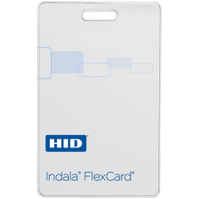 Indala PVC Flex Pass Clamshell Card - Min Order quantities of 100