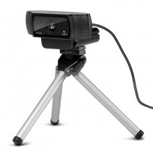 Logitech HD Pro C920 Webcam and Tripod