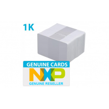 Genuine Philips/NXP MIFARE 1K EV1 PVC Cards with 4 Byte UID - Pack of 100