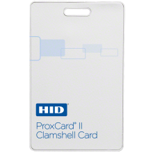 HID 1326LMSMV ProxCard® II Access Clamshell Cards - Pack of 100, Matte Finish