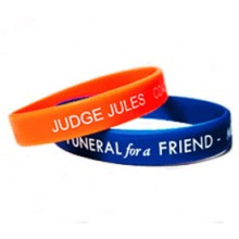 Screen Printed Silicone Wristbands (In any colour)