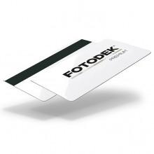 Fotodek® Premium Gloss Hi-Co 2750oe Magstripe Cards with PET Core - Pack of 100