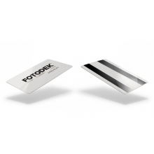 Fotodek® Premium Hi-Co/Lo-Co Double Magstripe Cards - Pack of 100
