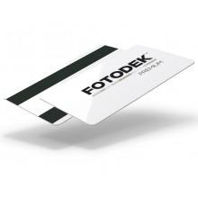 Fotodek® Premium CR80 760 Micron Hi-Co 4000oe Double Magstripe Cards - Pack of 100