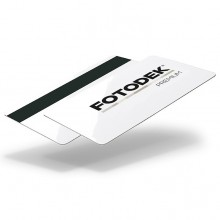 Fotodek® Premium Gloss Lo-Co 300oe Magstripe Cards with PET Core - Pack of 100