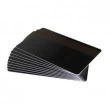 Fotodek® Black Rewrite Cards with 300oe Lo-Co Magstripe - Pack of 100