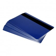 Fotodek® Blue Rewrite Cards with 300oe Lo-Co Magstripe - Pack of 100