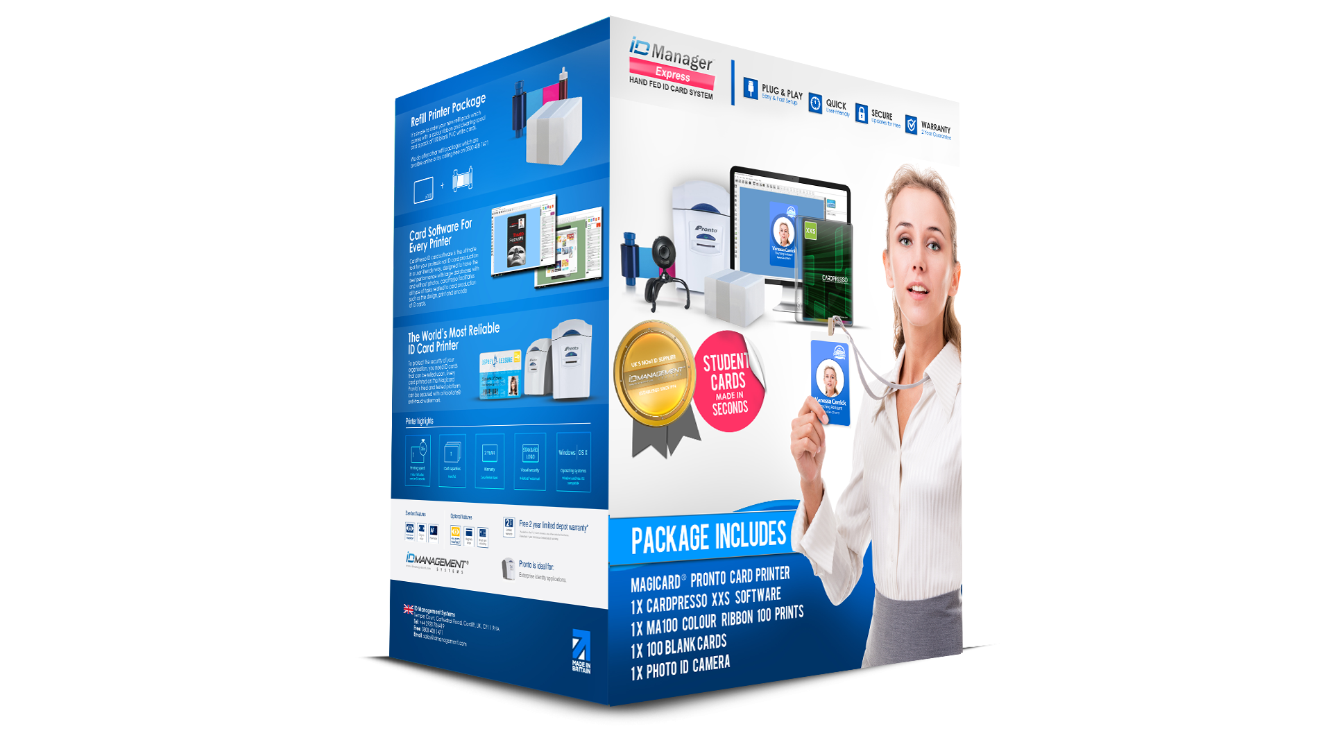 ID Manager Student ID Card System - Magicard Pronto
